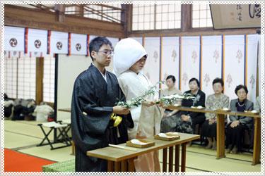 神社挙式 和装