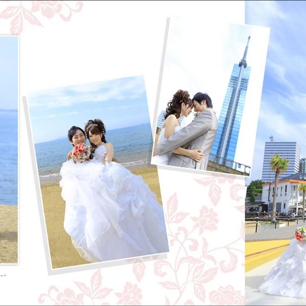 福岡,和装,洋装,前撮り,結婚式当日,,マリゾン