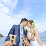福岡,和装,洋装,前撮り,結婚式当日,,福岡・志賀島