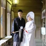 北九州,福岡,和装,洋装,前撮り,結婚式当日,,高見神社・北九州市