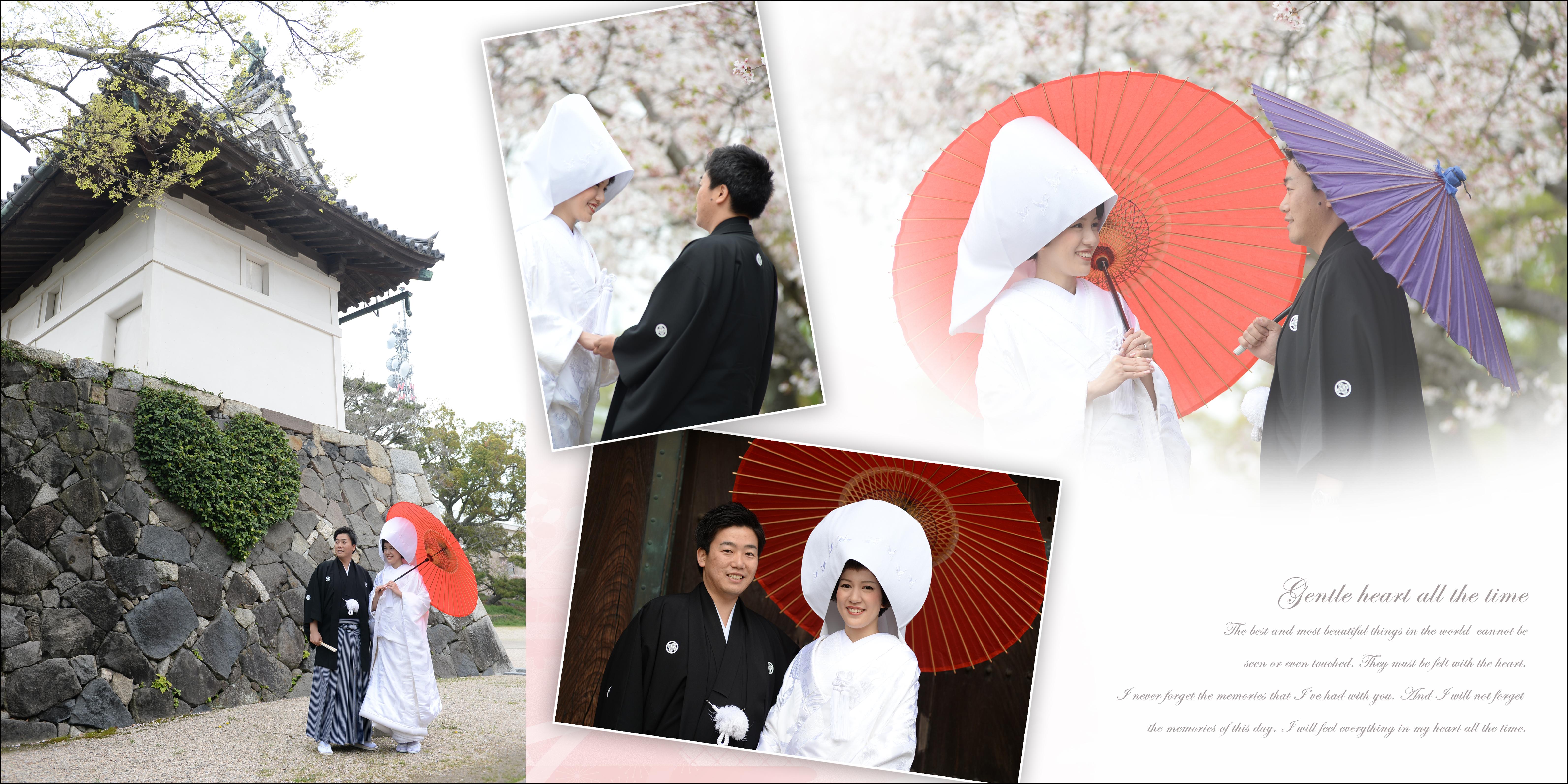 佐賀,和装,洋装,前撮り,結婚式当日,,佐賀城本丸歴史館