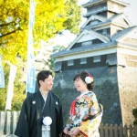 熊本城 紅葉 前撮り