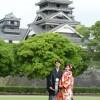 前撮り スタジオフィール 熊本 熊本城