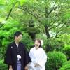 前撮り スタジオフィール 福岡 大濠公園 日本庭園