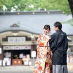 熊本,和装,洋装,前撮り,結婚式当日,,加藤神社01