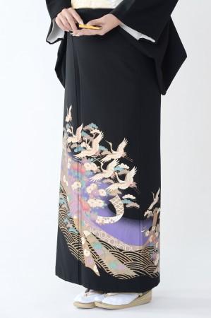 熊本黒留袖100