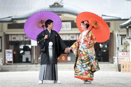 熊本 加藤神社和装前撮り