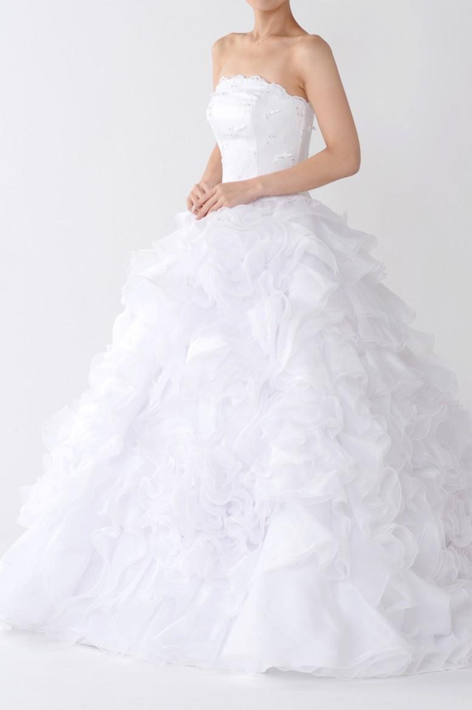 福岡店ウェディングドレス FW-018