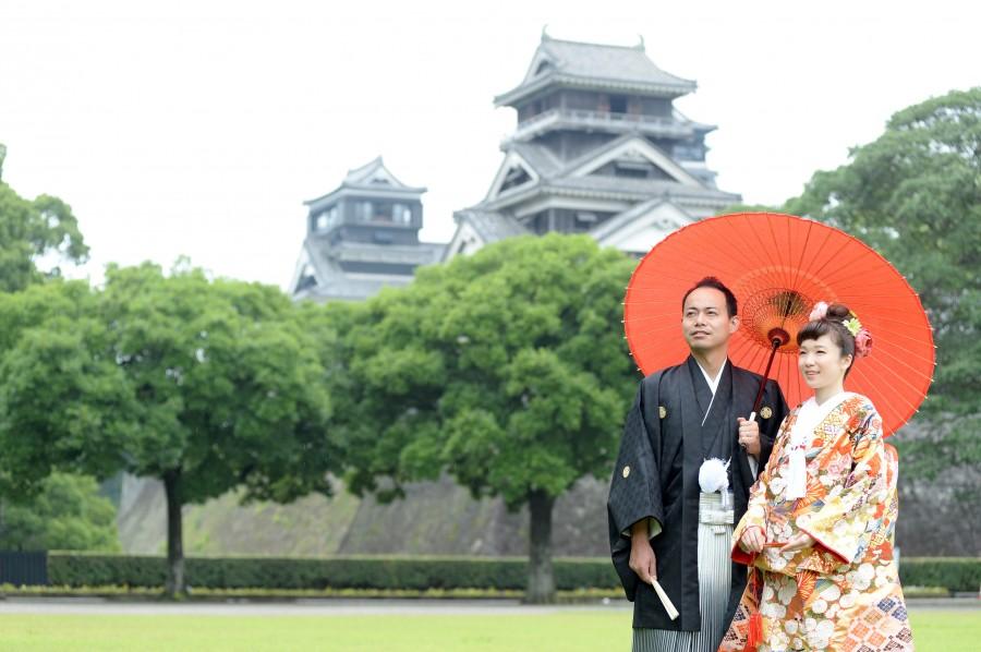 熊本前撮り,熊本城