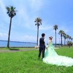 長崎 森園公園 ドレス撮影 前撮り スタジオフィール