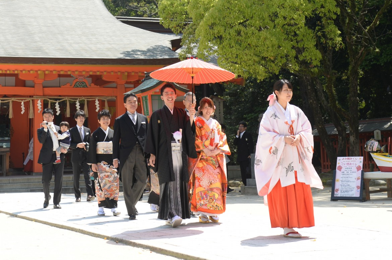 住吉神社結婚式