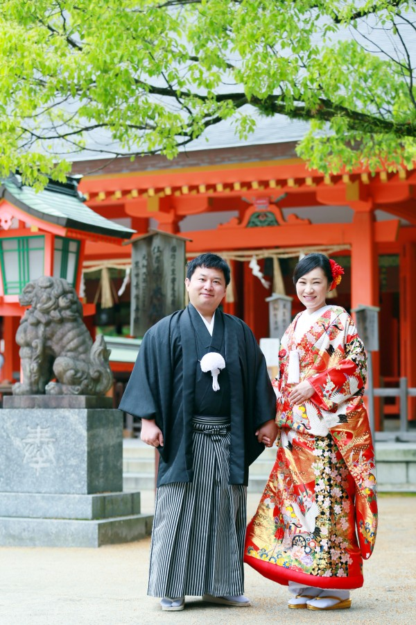 【6月~8月撮影】神社挙式 和装レンタルフルサポートプランのお客様限定!!