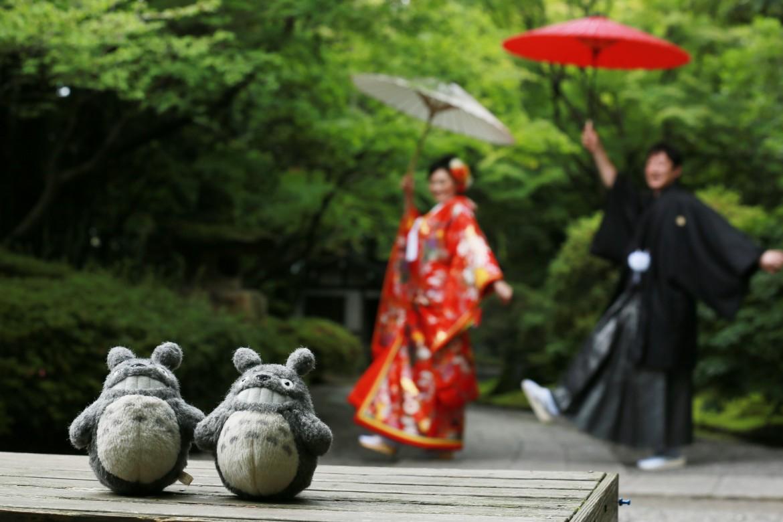 福岡 前撮り 和装 友泉亭 日本庭園