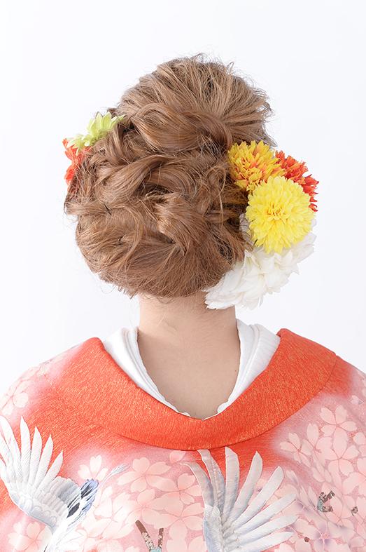 和装髪型 -No.