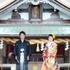 宗像大社 前撮り 婚礼 和装 神前挙式 交通安全 神社