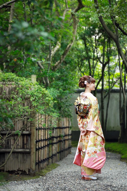 福岡 前撮り 成人 日本庭園 成人写真 友泉亭