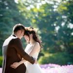 福岡,和装,洋装,前撮り,結婚式当日,,能古島・前撮り
