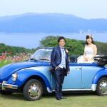 福岡,和装,洋装,前撮り,結婚式当日,,能古島007