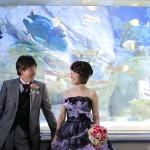 福岡,和装,洋装,前撮り,結婚式当日,,福岡 前撮り マリンワールド004