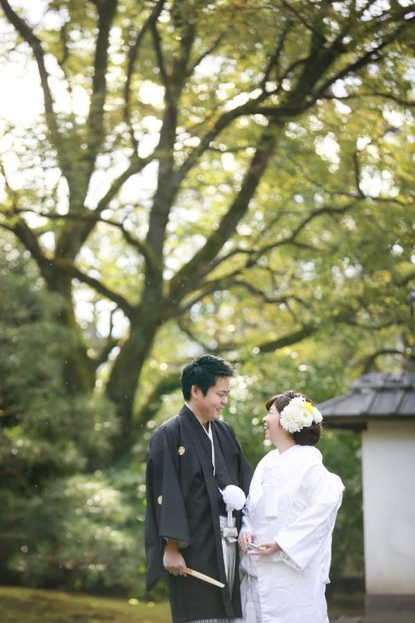 熊本城 熊本 前撮り 和装 日本庭園