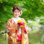 熊本,和装,洋装,前撮り,結婚式当日,,前撮り スタジオフィール 熊本県 水前寺公園