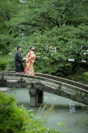 熊本城 地震 格安 和装 婚礼 前撮り