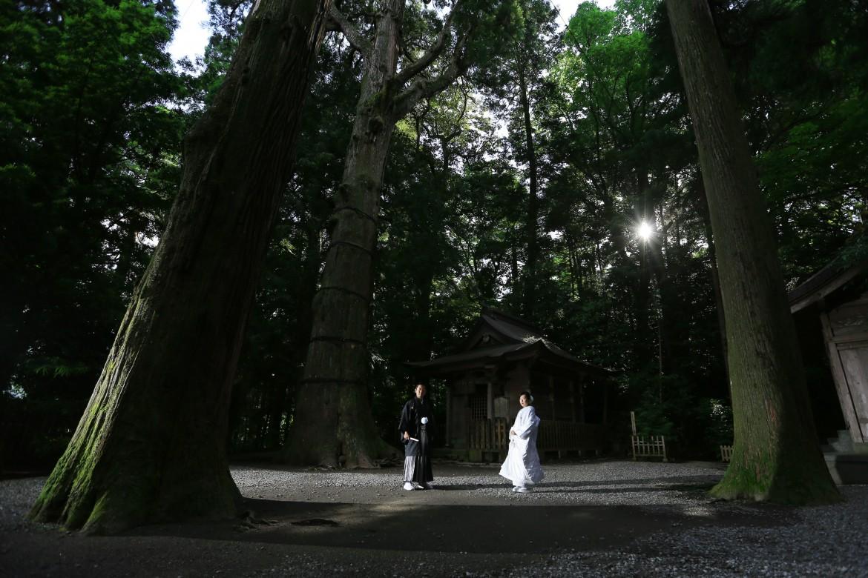 前撮り スタジオフィール 宮崎 高千穂神社