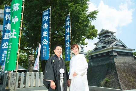 スタジオフィール 熊本  熊本城 加藤神社