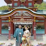 山口,和装,洋装,前撮り,結婚式当日,,山口 スタジオフィール 防府天満宮