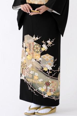 鹿児島店黒留袖KAKT-006