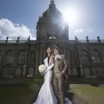 佐賀,和装,洋装,前撮り,結婚式当日,,佐賀  有田ポーセリンパーク