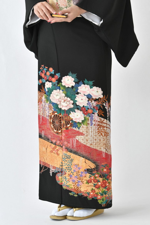 鹿児島店黒留袖KAKT-025
