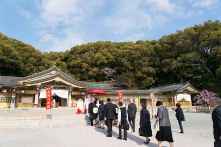 福岡 スタジオフィール 紅葉八幡宮 神社挙式