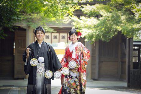 熊本 健軍神社 和装前撮り スタジオフィール