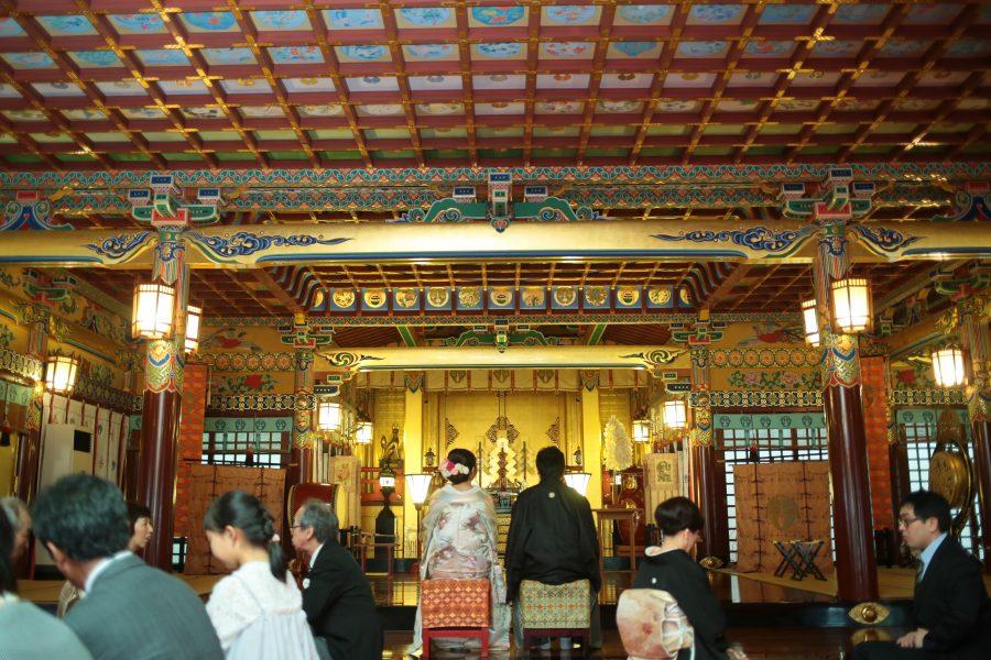 佐賀県 祐徳稲荷神社 神社挙式 和装 スタジオフィール