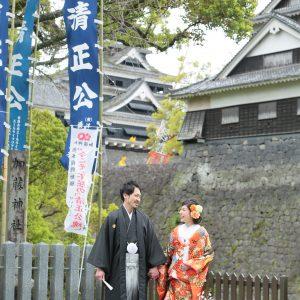 熊本城 前撮り スタジオフィール
