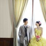 福岡,和装,洋装,前撮り,結婚式当日,,福岡・貴賓館07