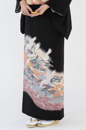 熊本店黒留袖KUKT–310