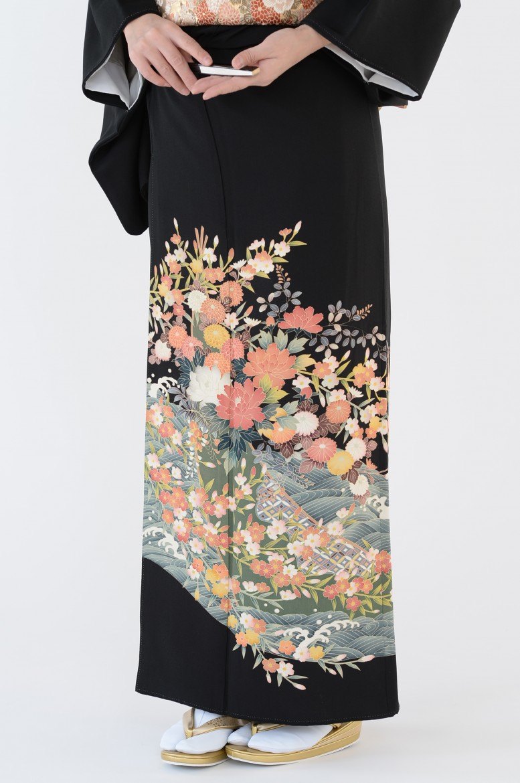 熊本店黒留袖KUKT–015