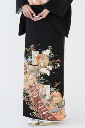 熊本店黒留袖KUKT–020