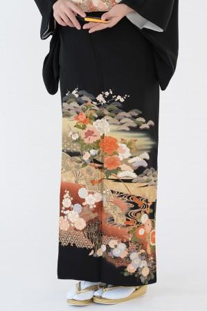 熊本店黒留袖KUKT–022