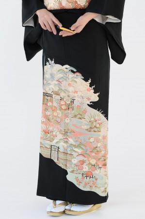熊本店黒留袖KUKT–023