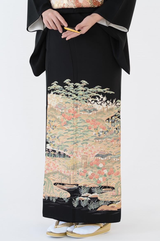 熊本店黒留袖KUKT–330