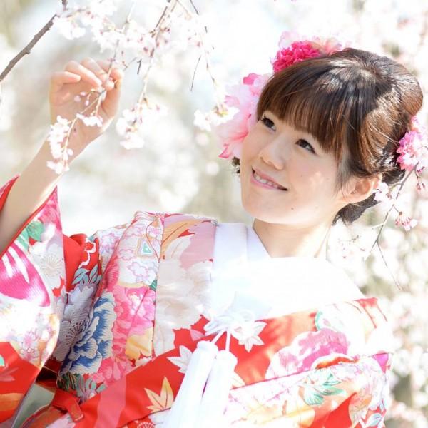 福岡,和装,洋装,前撮り,結婚式当日,,桜前撮りプランの期間