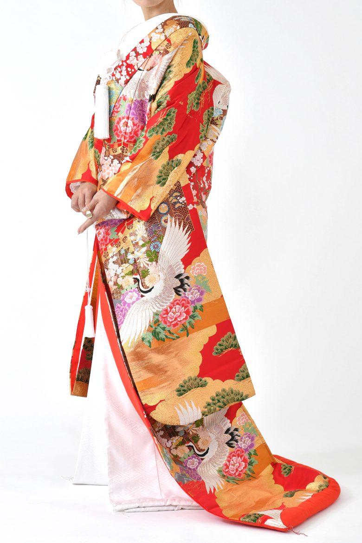 福岡色打掛けF-017