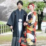 熊本,和装,洋装,前撮り,結婚式当日,,さくら熊本城前撮りプラン-05