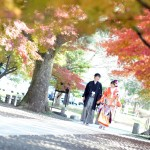 熊本,和装,洋装,前撮り,結婚式当日,,熊本城細川邸-002