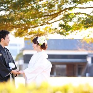 結婚式写真・前撮り 熊本城プラン