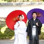 長崎,和装,洋装,前撮り,結婚式当日,,前撮り スタジオフィール 長崎 大村公園