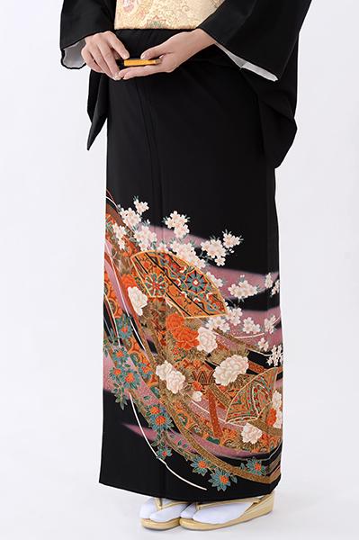 福岡黒留袖KT-059